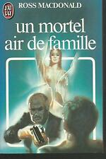 Un mortel air de famille.Ross MACDONALD.J'ai Lu  Z34