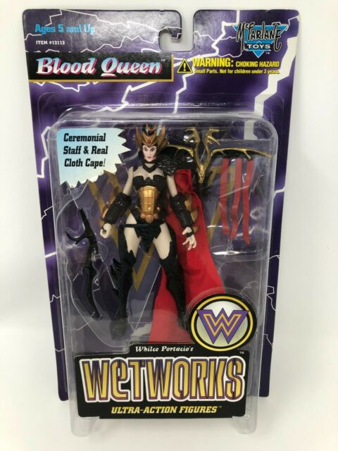 Todd McFarlane's Blood Queen Ultra- Action Figure Wetworks Series 2 1996 NIB