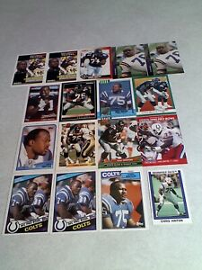 Chris-Hinton-Lot-of-85-cards-31-DIFFERENT-Football