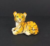 Small Bengal Tiger Figurine 2.5 Tall Wild Cat Collectible Statue B