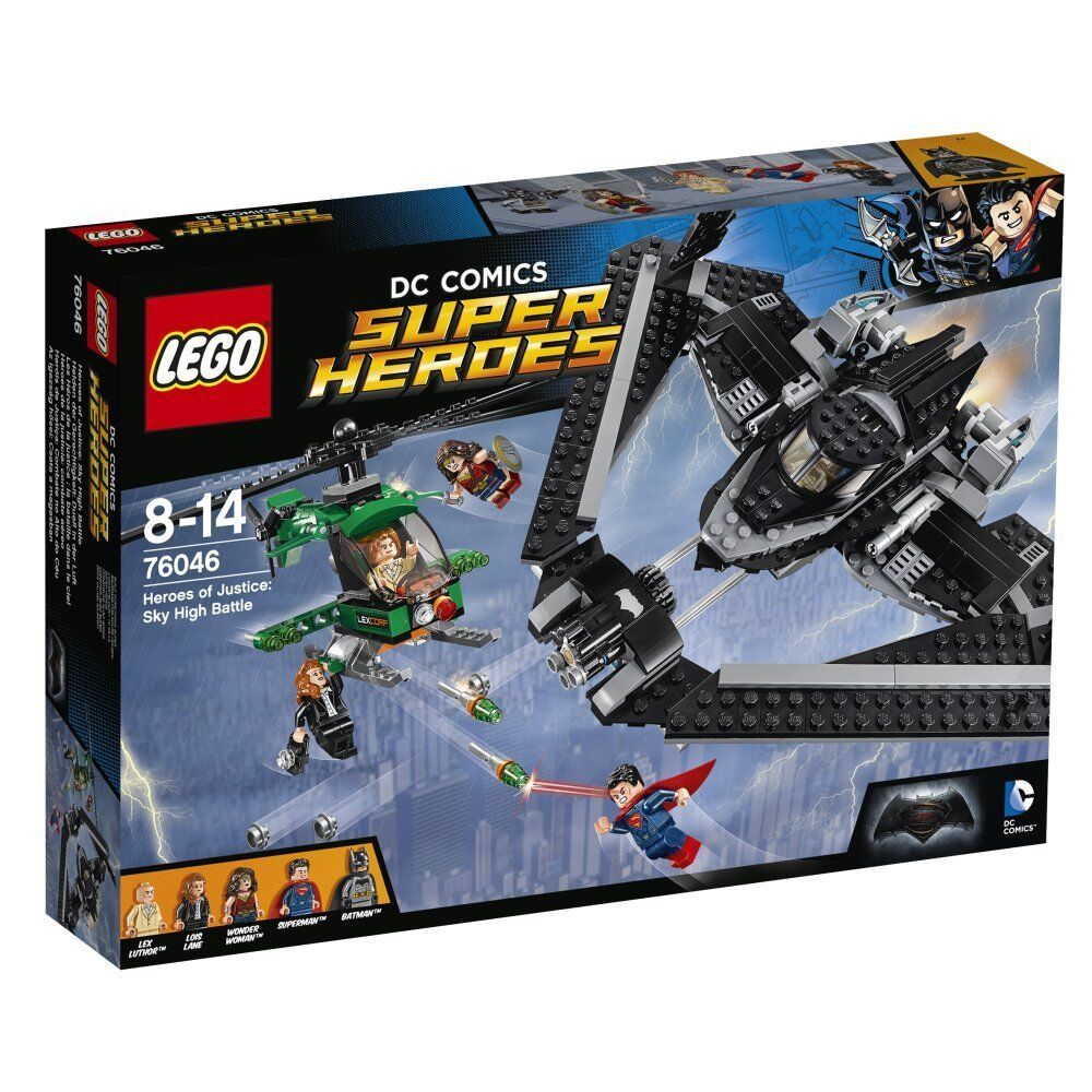 LEGO 76046 - HEROES OF JUSTICE SKY HIGH BATTLE - SERIE SUPER HEROES BATMAN