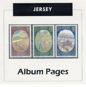 Jersey-CD-Rom-Stamp-Album-1958-2017-Color-Illustrated-Album-Pages