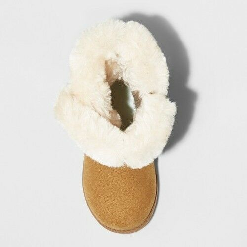 Tan Cat /& Jack Toddler Girls/' Katrina Fleece Cozy Fashion Boots