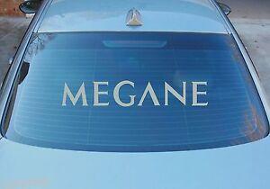 MEGANE-Grande-Ventana-Trasera-Pegatina-Graficos-580mm-x-100mm-VARIOS-COLORES