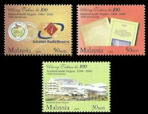 SJ-100th-Anniversary-Of-National-Audit-Institution-Malaysia-2006-stamp-MNH