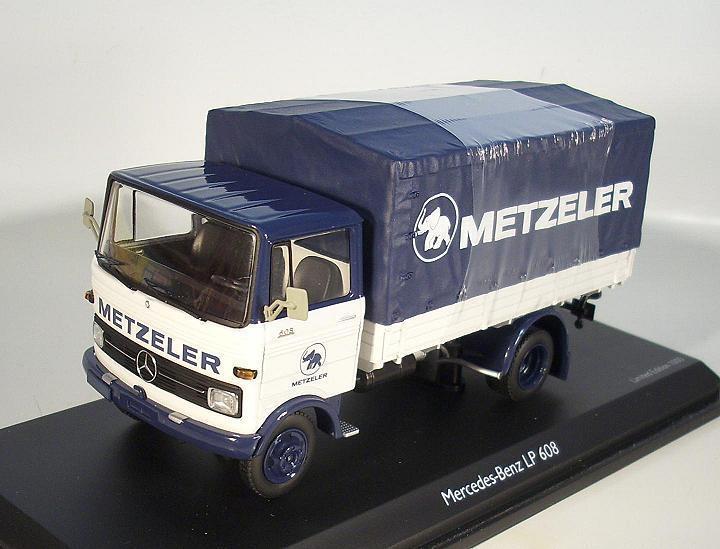 productos creativos Schuco 1 43 mercedes benz LP 608 Metzeler OVP    5921  seguro de calidad