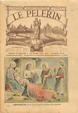 L'Épiphanie Epiphany Fra Angelico Jesus Madona Italy Italia 1905 ILLUSTRATION