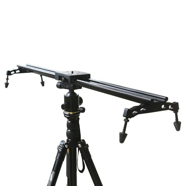 "Commlite 60cm 23"" DV DSLR Camera Camcorder Video Track Slider Stabilizer System"
