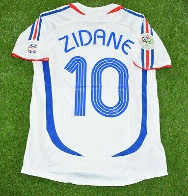 France Zidane 2006 World Cup Final Official Jersey Ebay