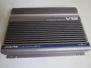 Details about Old School Alpine V12 MRV-1000 Car Amplifier