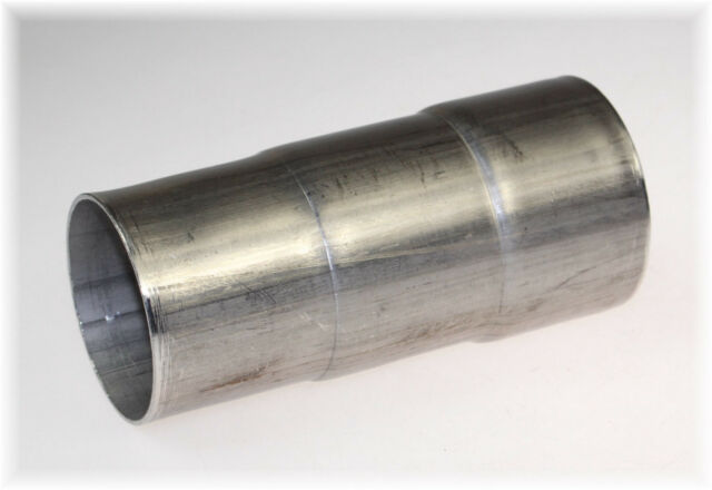 2 x BayWorld Auspuff Reduzierungsstück Adapter 50-55-60-65-70mm V2A Edelstahl