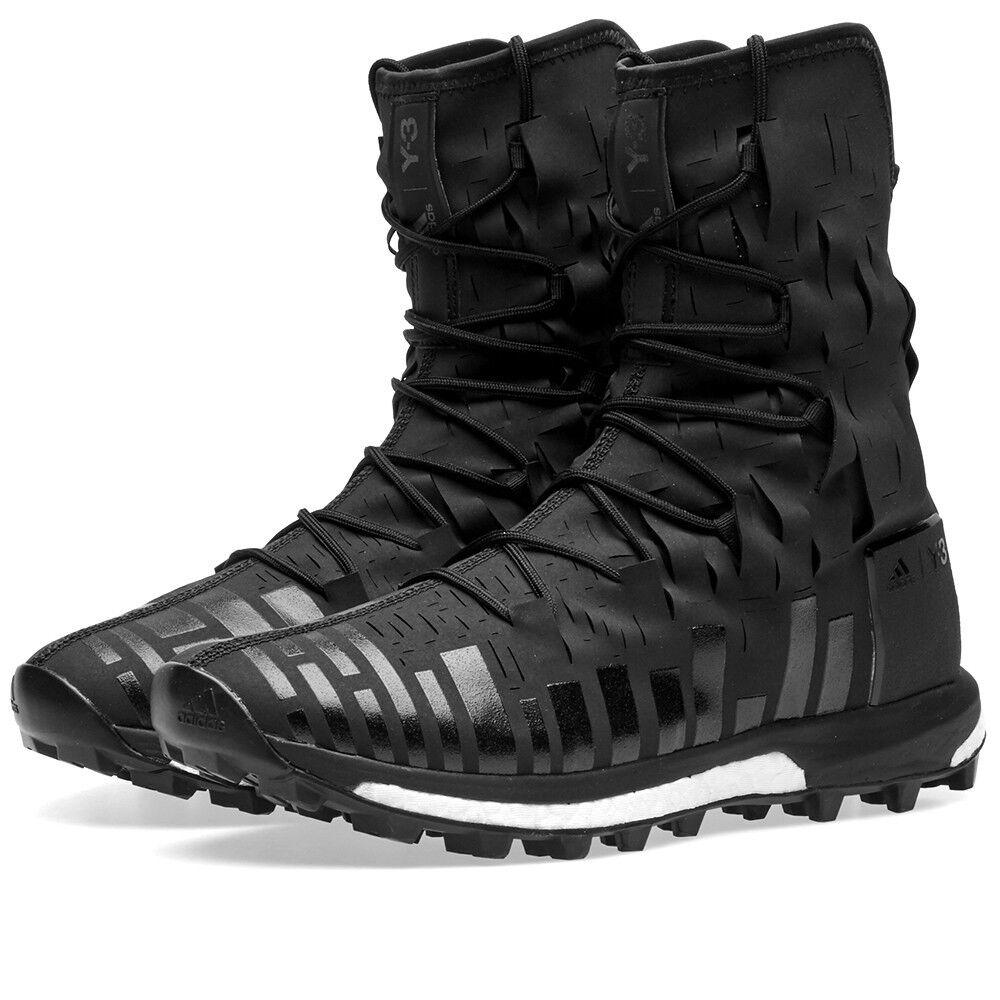 NUOVE Adidas Boost Y3 SPORT evasione Boost Adidas ALTO TAGLIO LASER NERO BOOT (AQ1607) EU 42 7c1dc4