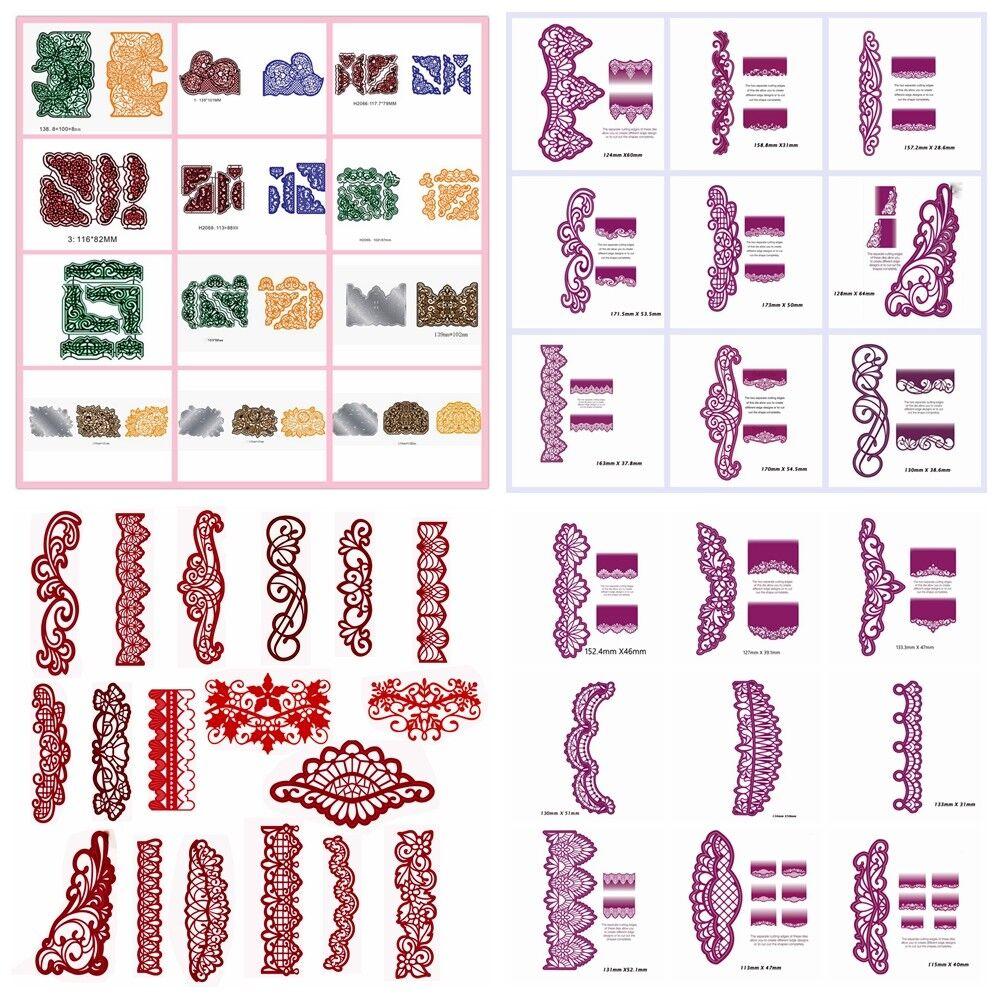 Blüten Stencil Cutting Dies Scrapbooking Karte Tagebuch Stanzschablone Embossing