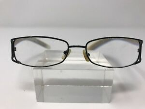 5e23e02970 DKNY Eyeglasses 52-16-135 Frame China Black white Metal Crame Full ...