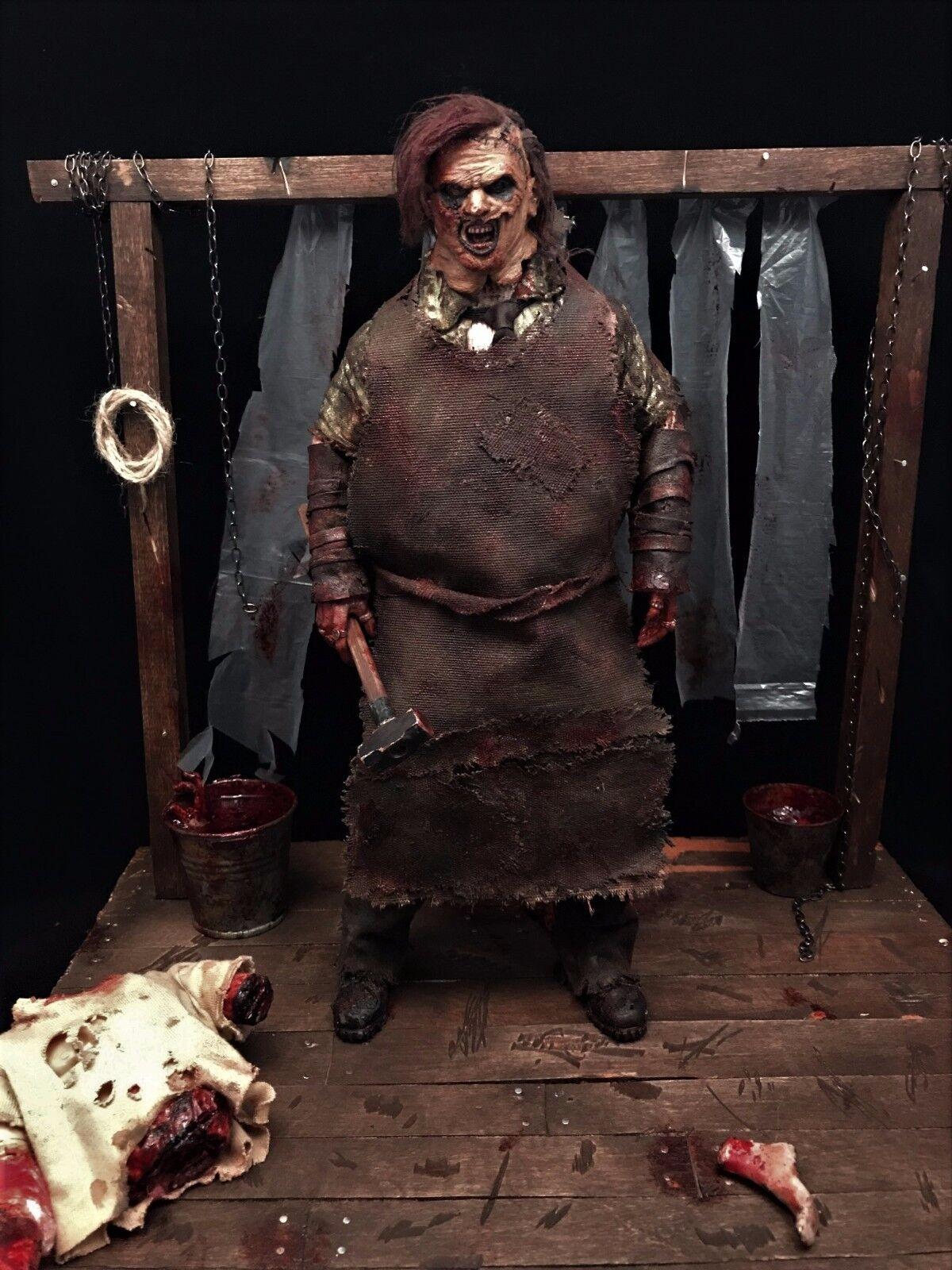 1 6 Texas Chainsaw Massacre Leatherface Diorama for Sideshow Hot Toys Threezero