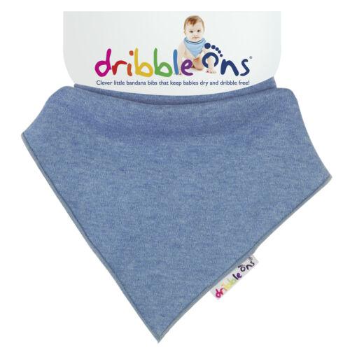 Wählen Sie 2 UK Verkäufer Dribble Ons Doppelpack Halstuch Lätzchen Alle Farben