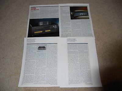 1 pg Yamaha M-85 Tuner Ad T-85 Amp Pre C-85 1986