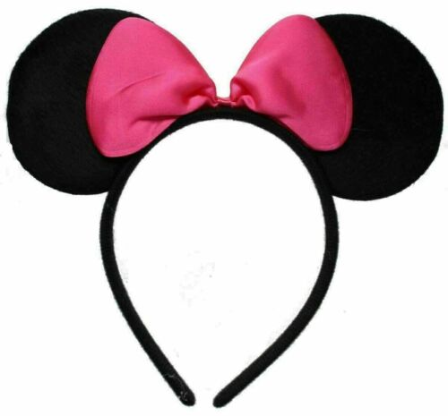 PINK ANGELINA BALLERINA EARS WITH BOW!