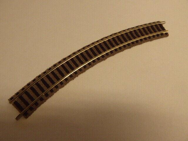 R1 356,5mm,36° **Fleischmann 6120 H0 Profi-Gleis 2 Stück gebogenes Gleis Neu**