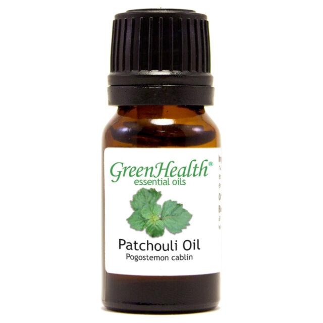 10 ml Patchouli Essential Oil (100% Pure & Natural) - GreenHealth