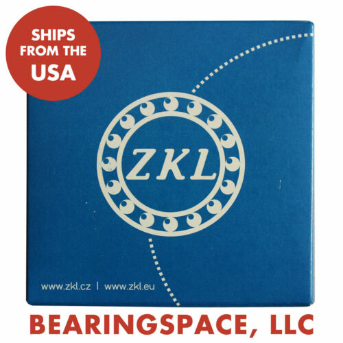 One New ZKL 6303-2RS C3 Single Row Ball Bearings with Seals 17mm x 47mm x 14mm