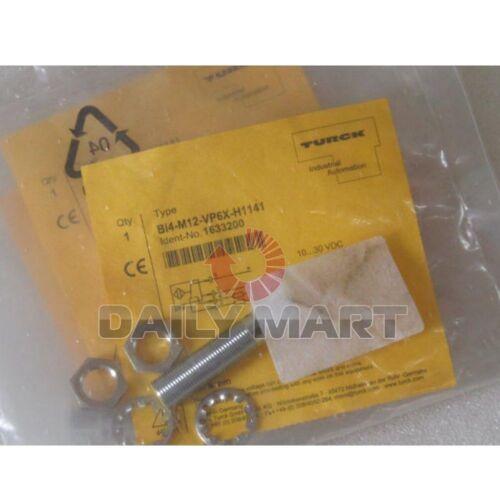 TURCK ELEKTRONIK NEW BI4-M12-VP6X-H1141 PLC 12mm Metal Barrel Sensor 200mA