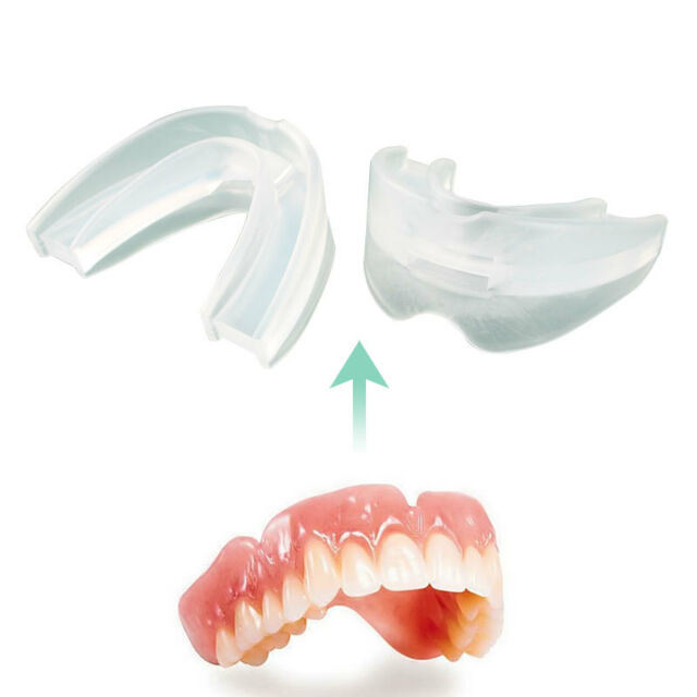 Anti Snore Stop Snoring Solution Mouth Guard Piece Sleeping Aid Apnoea