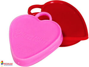 BALLOON-WEIGHTS-10-x-HEAVY-WEIGHT-HEARTS-80g-ea-FOR-ALL-FOIL-amp-LATEX-BALLOONS