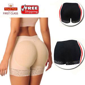 1bf7f8de31 UK HOT Padded Bum Pants Enhancer Shaper Butt Lifter Booty Boyshorts ...