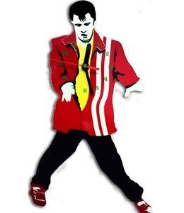 Elvis Presley Swinging Legs Pendulum Wall Clock Great Gift