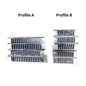 Led Di Potenza.Dettagli Su 6 11 Cm In Alluminio Dissipatore Di Calore Off Tagli Led Di Potenza Di Raffreddamento A Transistor Chip Di Memoria Mostra Il Titolo