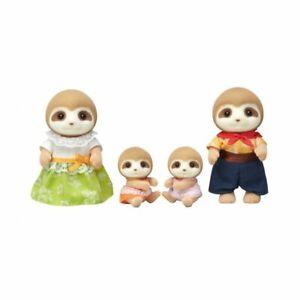 Sylvanian-Families-35th-anniversary-Sloth-family-set-Limited-JAPAN