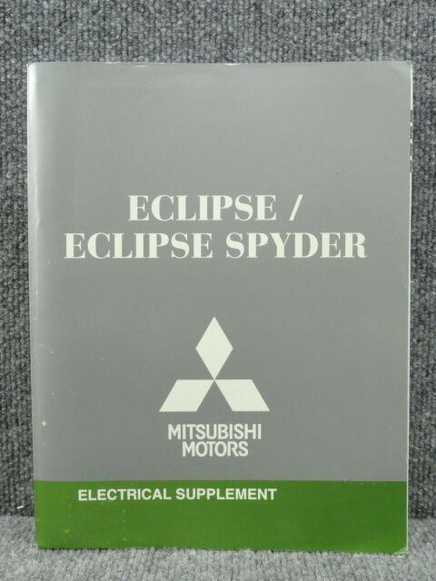 Oem 2009 Mitsubishi Eclipse Spyder Electrical Wiring