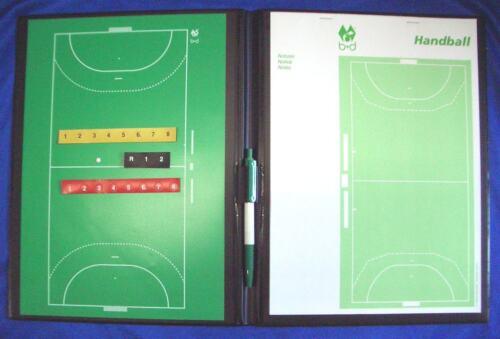 Handball - Porte Feuille Tactique - Coachmappe, 28x18cm, 2. Choix