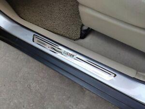 For Accessories Renault Dacia Duster 2011 2020 Steel Door Sill