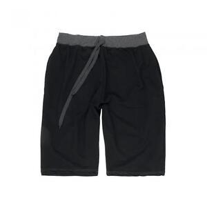 Bermuda Shorts Sommerhose Hose Schwarz Grau Gr. 3xl #2019