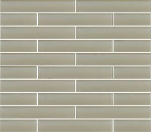 Image Is Loading Antique Light Taupe 2x12 Gl Subway Tiles For