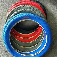 Primo - The Wall - Bmx Tire - 20 X 2.10 - White,red,blue,grey -free Shipping