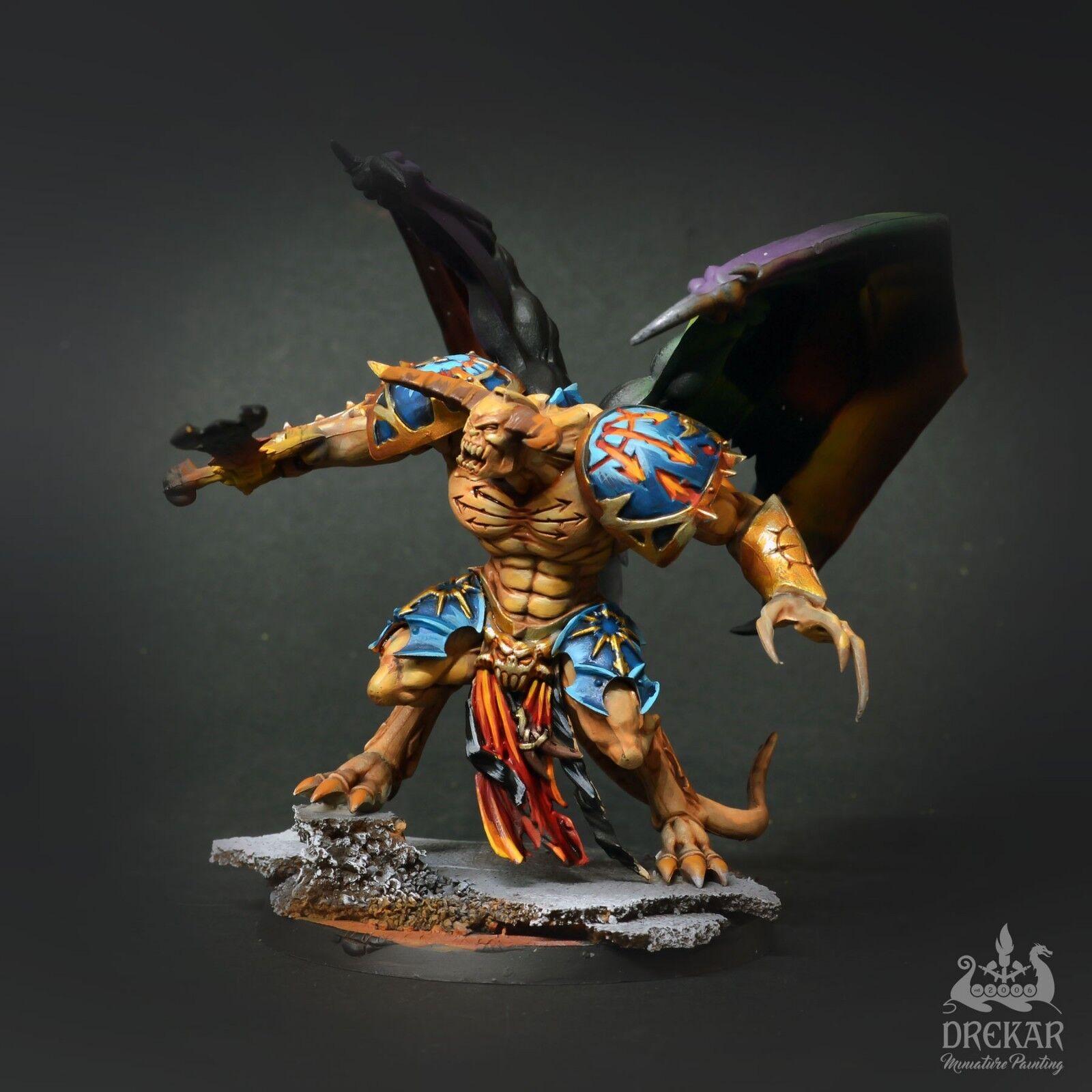 Daemon Prince chaos Tzeentch intergalactic  COMMISSION    painting e5fb66