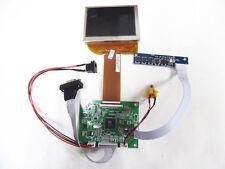 NEW VGA AV Controller Board + 3.5inch lcd display 640x480 resolution PD035VX2