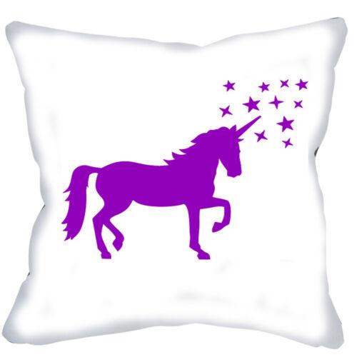 Foto almohada cojín unicornio unicorin encaminamiento funda referencia regalo de cumpleaños