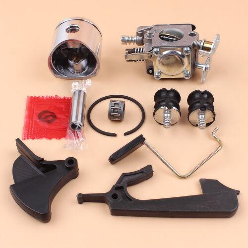 38mm Piston Carburetor Kit For Husqvarna 142 137 136 141 36 41 E Chainsaw W29E
