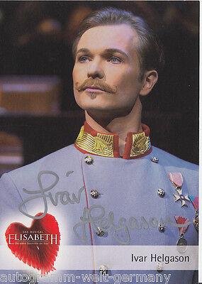 Ivar Helgason Top Ak Orig 19875 Exquisite Traditionelle Stickkunst Sign Elisabeth