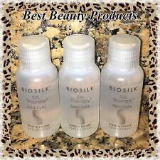 3 BIOSILK Silk Therapy Serum  0.5 oz / 15 mL (each)***Travel Size***