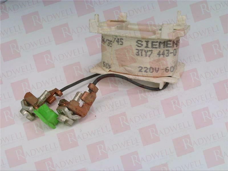 SIEMENS 3TY7443-0AN1   3TY74430AN1 (USED TESTED CLEANED)