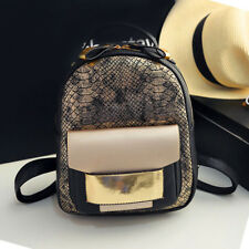 item 3 Women And Girls Fashion Vintage Bag Crocodile Faux Leather Backpack  School Bag -Women And Girls Fashion Vintage Bag Crocodile Faux Leather  Backpack ... 7737f2f0767e0