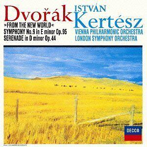 DVORAK-SYMPHONY-NO-9-FROM-THE-NEW-WORLD-ETC-Audio-CD-Istvan-Kertesz