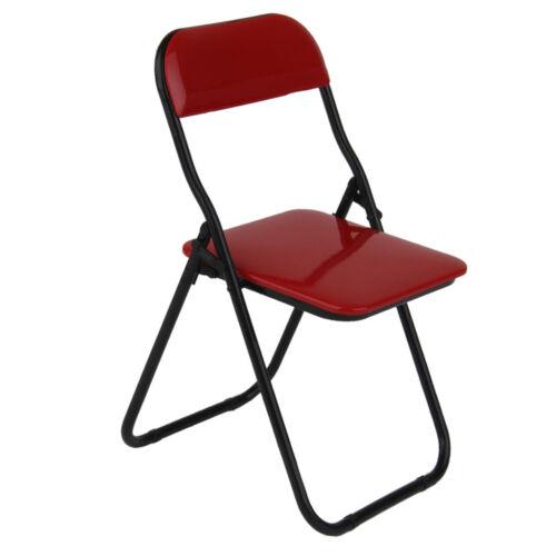 1:6 Actionfigur Möbel Roten Klappstuhl Für 12 inch Soldaten Figur