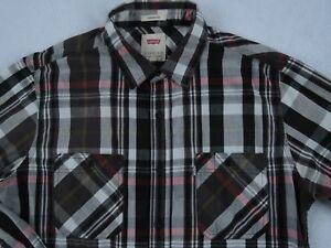 Levi-039-s-Men-039-s-Standard-Fit-L-S-Button-Down-Multi-Color-Plaid-Casual-Shirt-Large