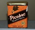 Old Canadian PICOBAC vertical pocket tin Imperial Tobacco, Montreal. FREE SHIP!